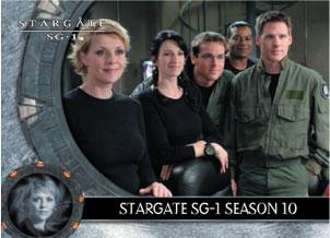 Stargate SG1 Season 9 Promo Card P1