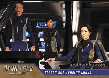 Star Trek Discovery Season One Promo Card P1