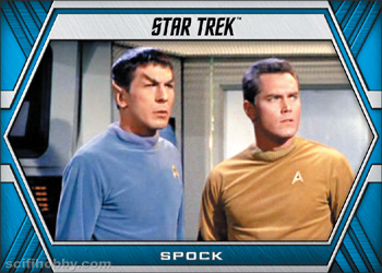 Commander Tuvok Star Trek Inflexions Phaser Cut Chase Card PC25 Lt