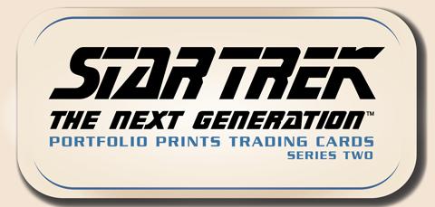 Star Trek The Next Generation Portfolio Prints Series One Rittenhouse Archives