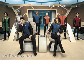 The Orville Season One Promo Card P1