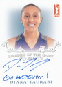 2019 WNBA Diana Taurasi Autograph / Inscription Card